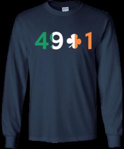 image 399 247x296px Conor Mcgregor 49 + 1 Irish T Shirts, Hoodies, Long Sleeves