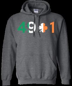 image 402 247x296px Conor Mcgregor 49 + 1 Irish T Shirts, Hoodies, Long Sleeves