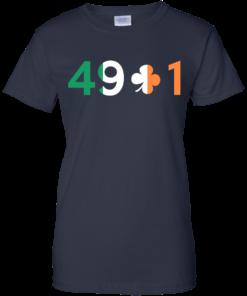 image 405 247x296px Conor Mcgregor 49 + 1 Irish T Shirts, Hoodies, Long Sleeves