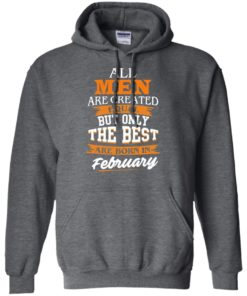 image 41 247x296px Jordan: All men are created equal but only the best are born in February t shirts
