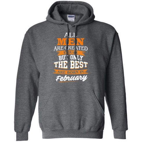 image 41 490x490px Jordan: All men are created equal but only the best are born in February t shirts