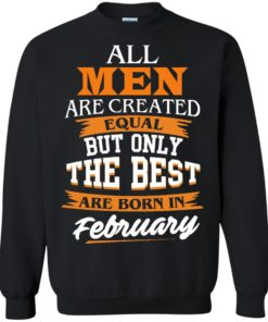 image 42 247x296px Jordan: All men are created equal but only the best are born in February t shirts