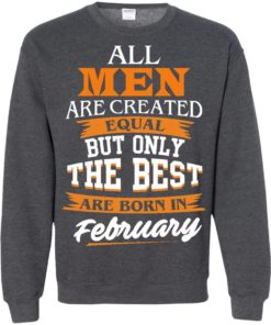 image 44 247x296px Jordan: All men are created equal but only the best are born in February t shirts