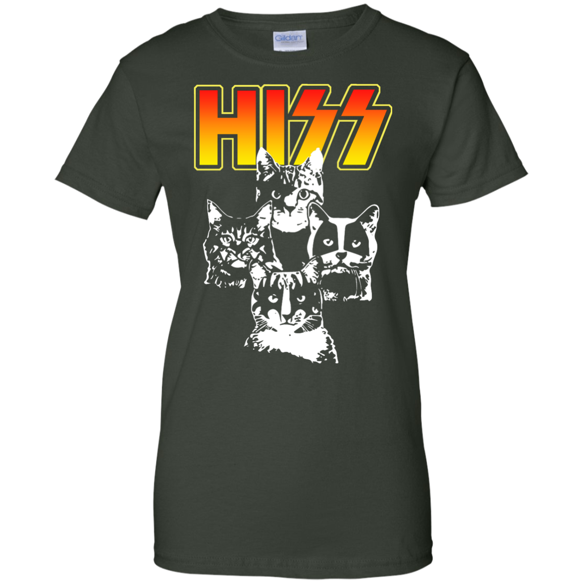 image 473px Hiss Kiss Cats Kittens Rock T Shirts, Hoodies, Tank Top
