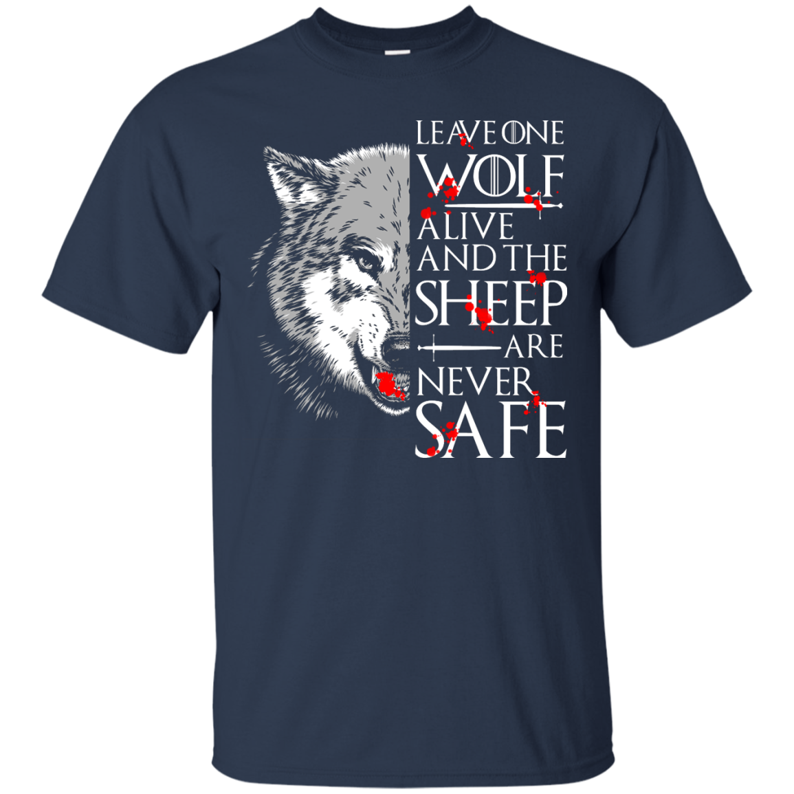 image 489px Leave One Wolf Alive And The Sheep Are Never Safe T Shirts, Hoodies, Tank