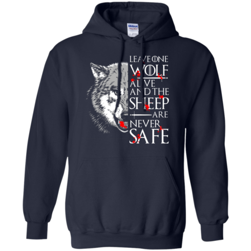 image 493 490x490px Leave One Wolf Alive And The Sheep Are Never Safe T Shirts, Hoodies, Tank