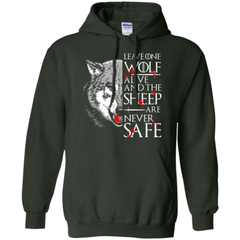 image 494 490x490px Leave One Wolf Alive And The Sheep Are Never Safe T Shirts, Hoodies, Tank
