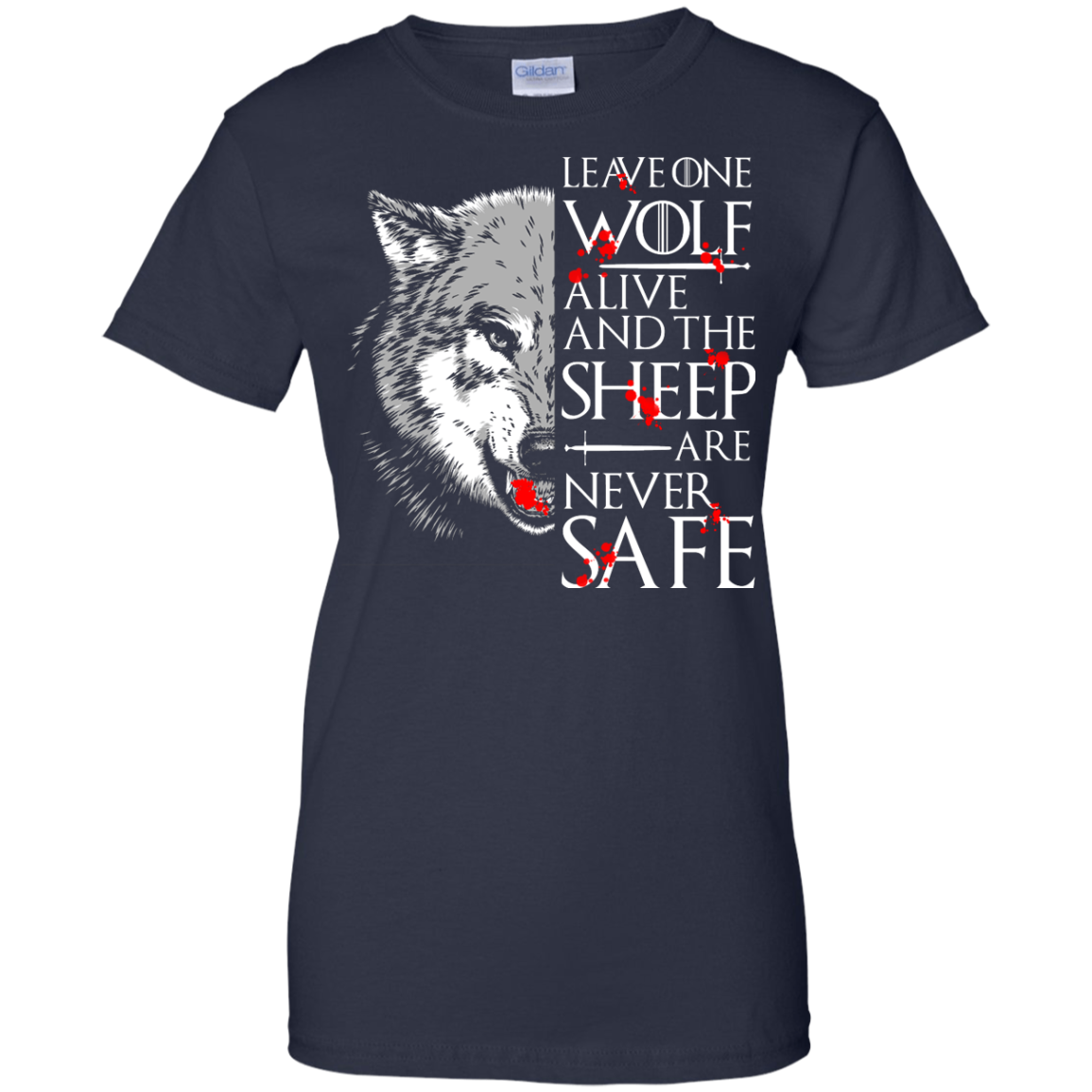 image 497px Leave One Wolf Alive And The Sheep Are Never Safe T Shirts, Hoodies, Tank