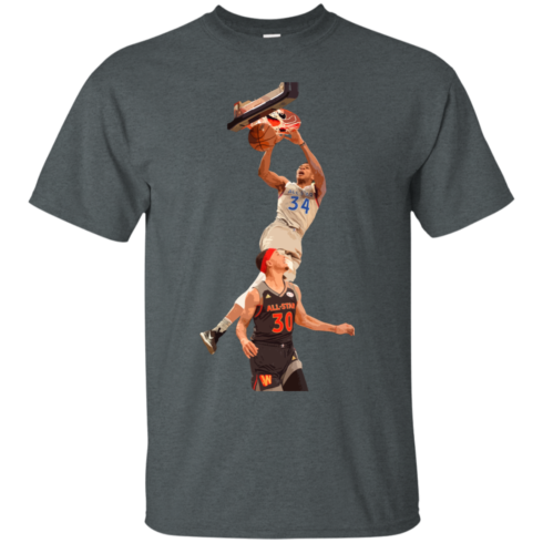 image 557 490x490px Giannis dunk on Steph Curry in the All Star Game T Shirts, Hoodies, Sweaters