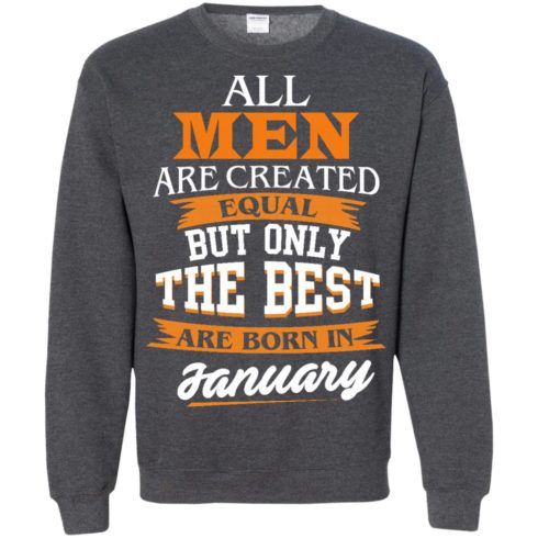 image 56 490x490px Jordan: All men are created equal but only the best are born in January t shirts