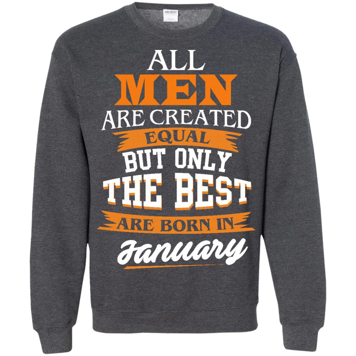 image 56px Jordan: All men are created equal but only the best are born in January t shirts