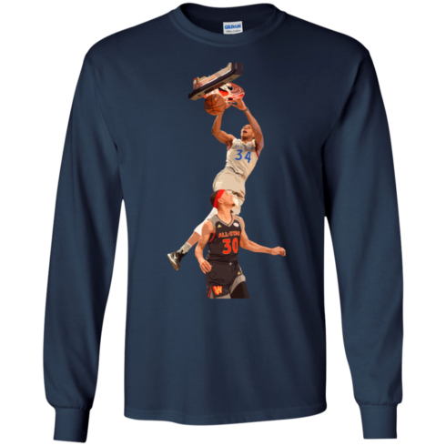 image 560 490x490px Giannis dunk on Steph Curry in the All Star Game T Shirts, Hoodies, Sweaters