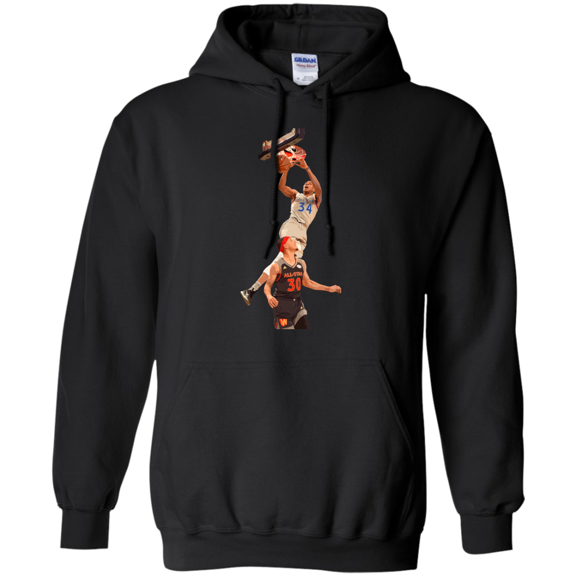 image 561px Giannis dunk on Steph Curry in the All Star Game T Shirts, Hoodies, Sweaters