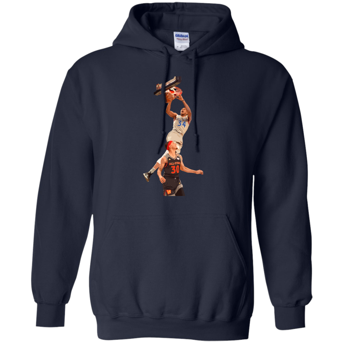 image 562px Giannis dunk on Steph Curry in the All Star Game T Shirts, Hoodies, Sweaters
