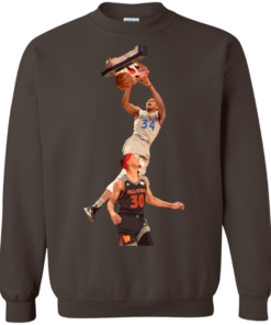 image 564 247x296px Giannis dunk on Steph Curry in the All Star Game T Shirts, Hoodies, Sweaters