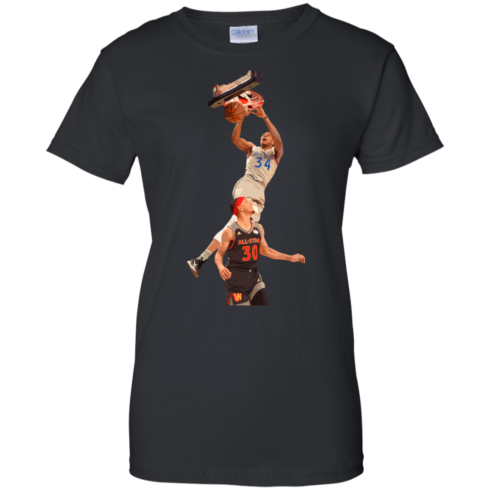image 566 490x490px Giannis dunk on Steph Curry in the All Star Game T Shirts, Hoodies, Sweaters