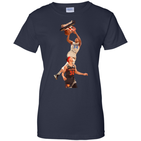 image 567 490x490px Giannis dunk on Steph Curry in the All Star Game T Shirts, Hoodies, Sweaters