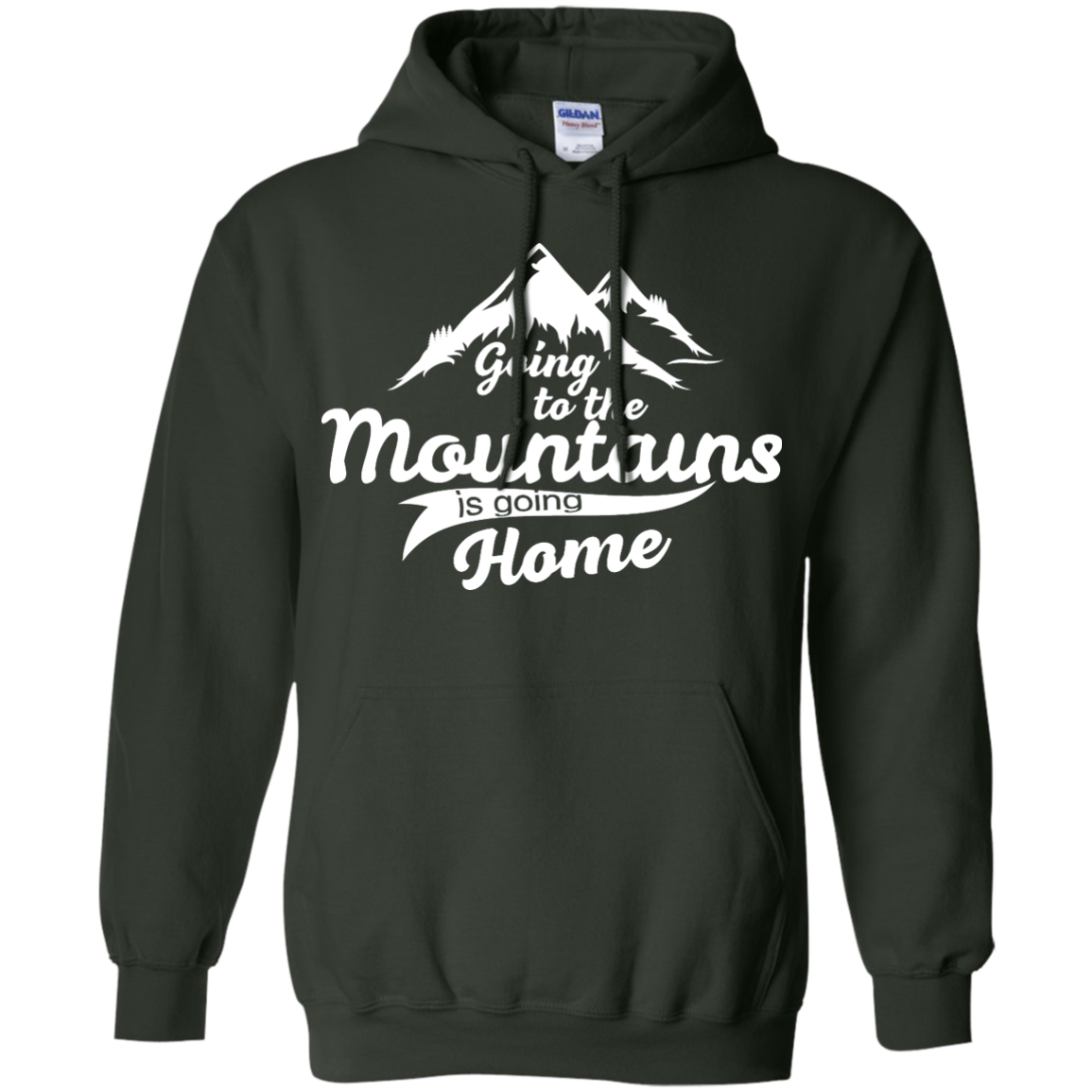 image 575px Going To The Mountains Is Going Home T Shirts, Hoodies, Tank