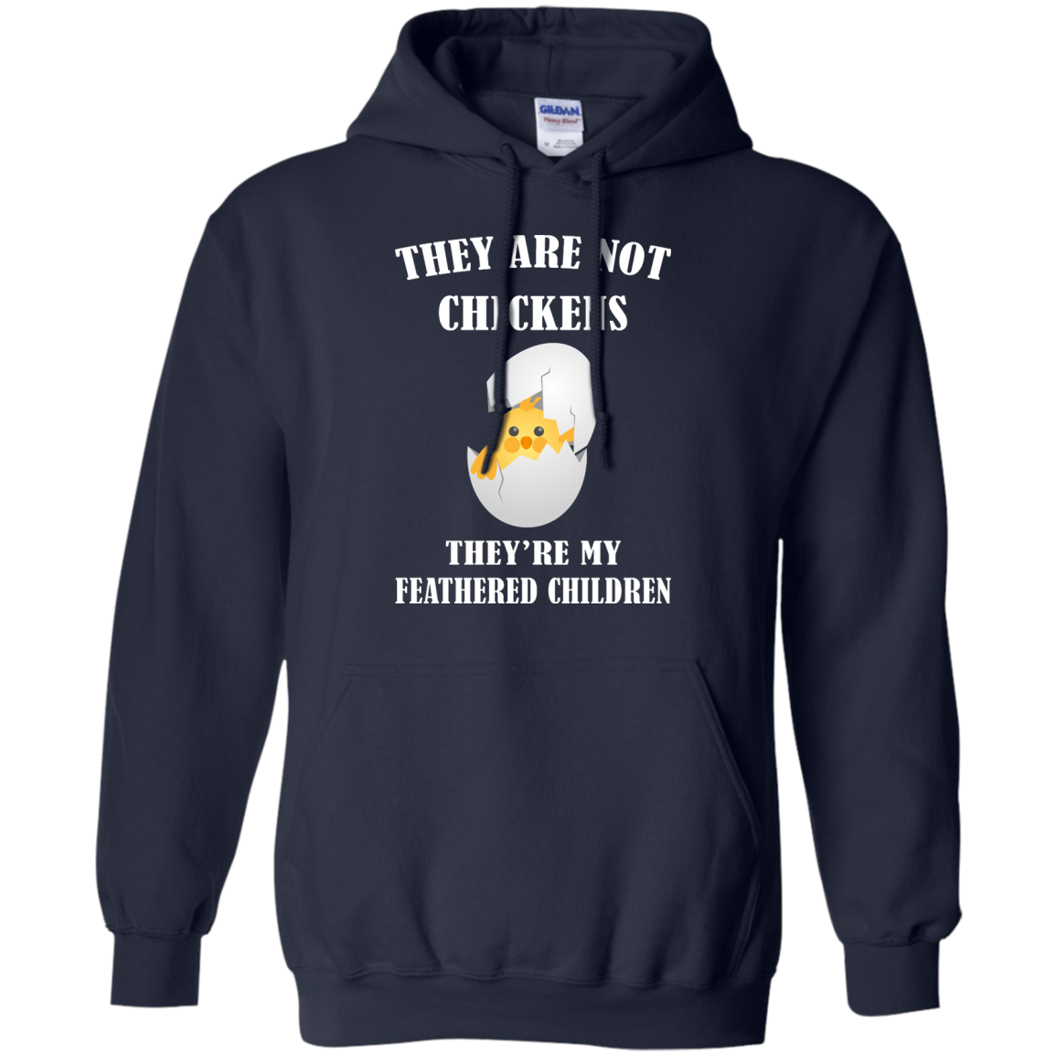 image 595px They Are Not Chickens They're My Feathered Children T Shirts, Hoodies, Sweaters