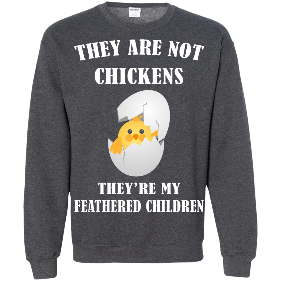 image 599px They Are Not Chickens They're My Feathered Children T Shirts, Hoodies, Sweaters