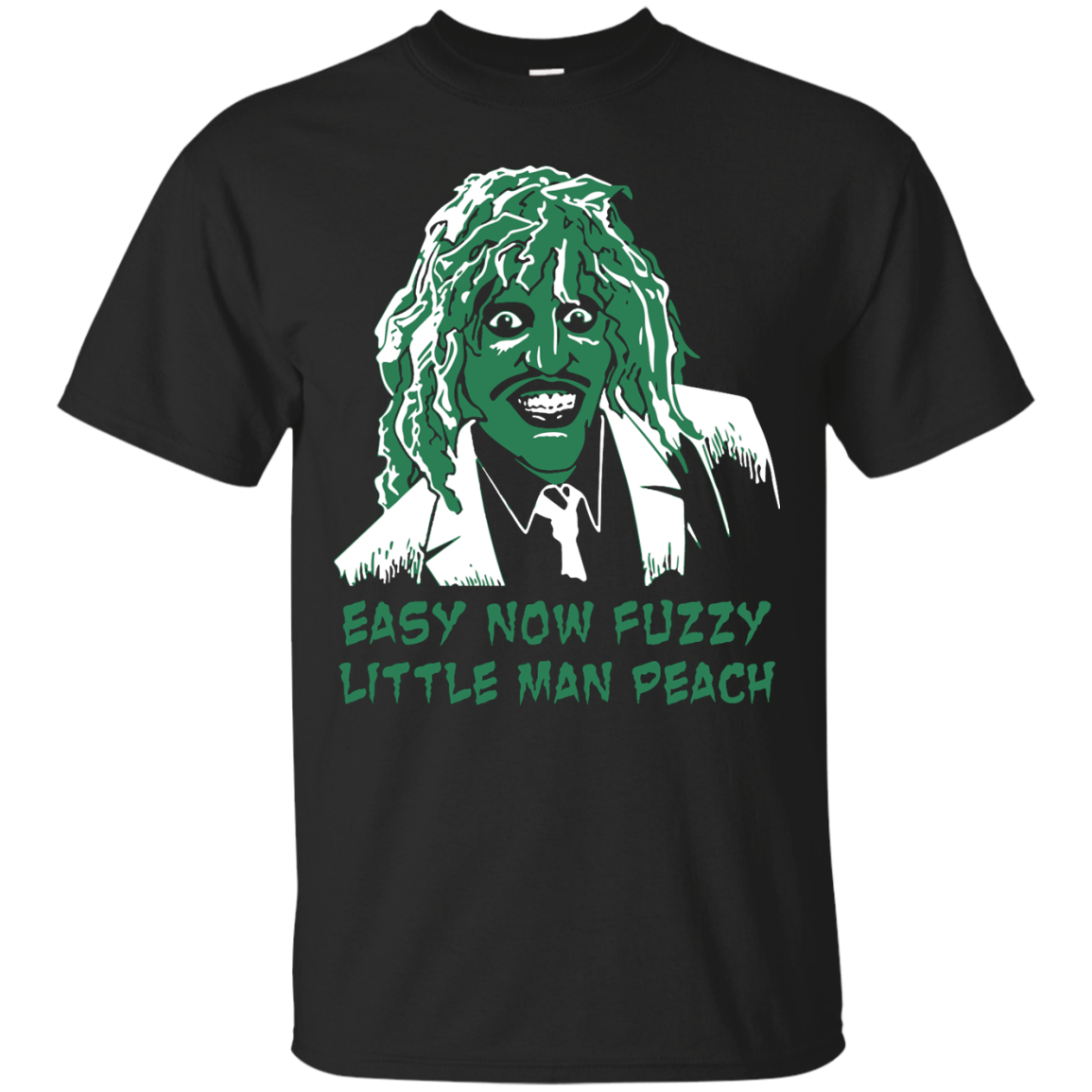 image 615px The Mighty Boosh: Easy Now Fuzzy Little Man Peach T Shirts, Hoodies, Sweater