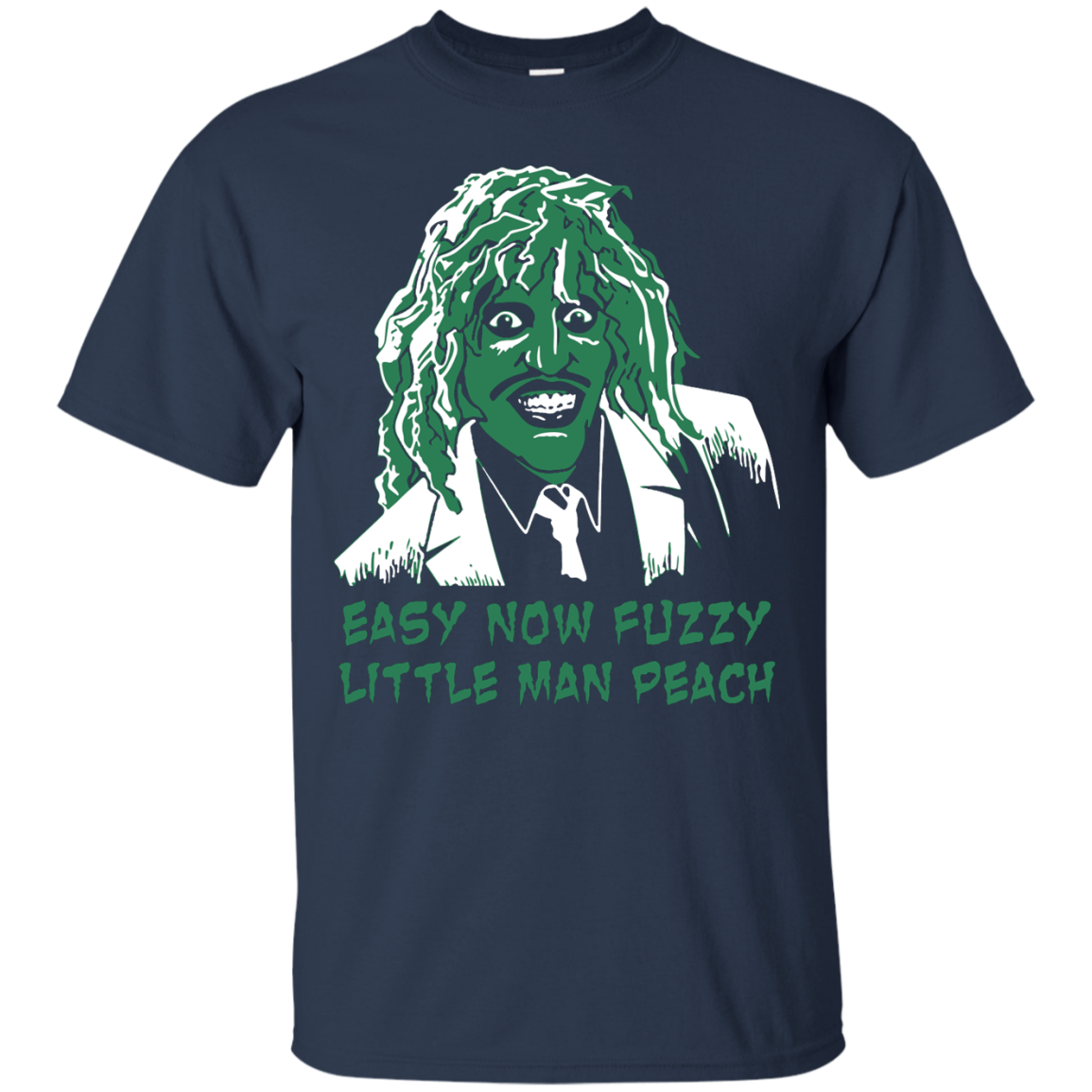 image 617px The Mighty Boosh: Easy Now Fuzzy Little Man Peach T Shirts, Hoodies, Sweater