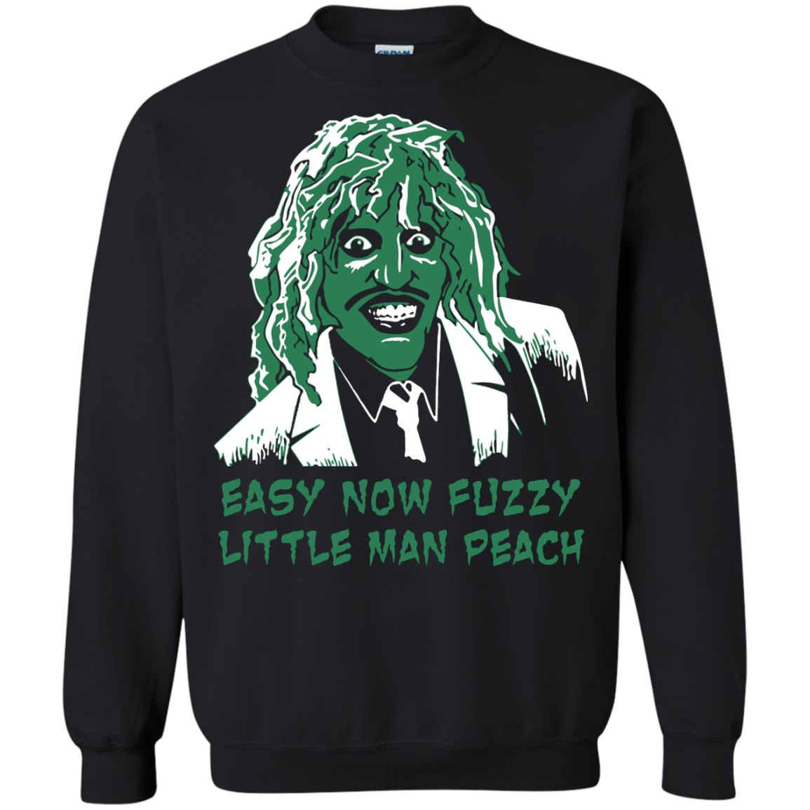 image 621px The Mighty Boosh: Easy Now Fuzzy Little Man Peach T Shirts, Hoodies, Sweater