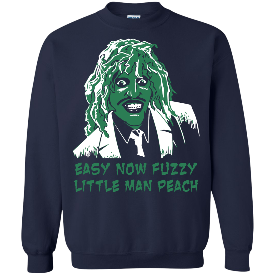 image 622px The Mighty Boosh: Easy Now Fuzzy Little Man Peach T Shirts, Hoodies, Sweater