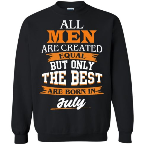 image 66 490x490px Jordan: All men are created equal but only the best are born in July t shirts