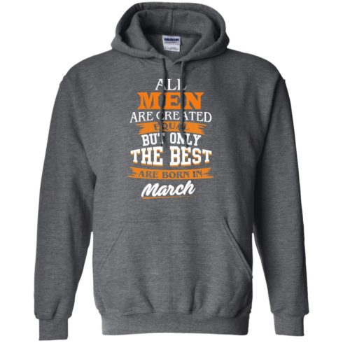image 89 490x490px Jordan: All men are created equal but only the best are born in March t shirts