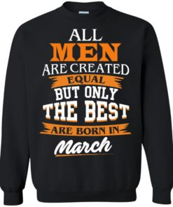 image 90 247x296px Jordan: All men are created equal but only the best are born in March t shirts