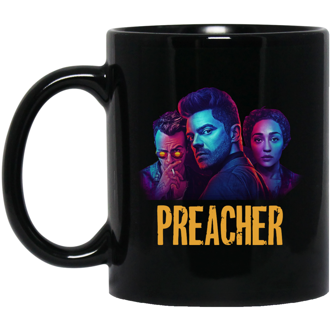 imagepx Preacher Season 2 Comic Book Cult Tv Show Mug Coffee