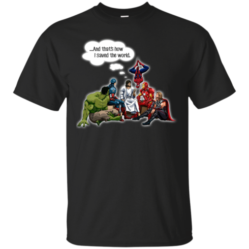 image 103 490x490px God and Super Hero: And That's How I Saved The World T Shirts, Hoodies, Sweaters