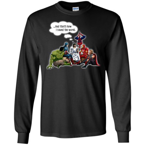 image 105 490x490px God and Super Hero: And That's How I Saved The World T Shirts, Hoodies, Sweaters