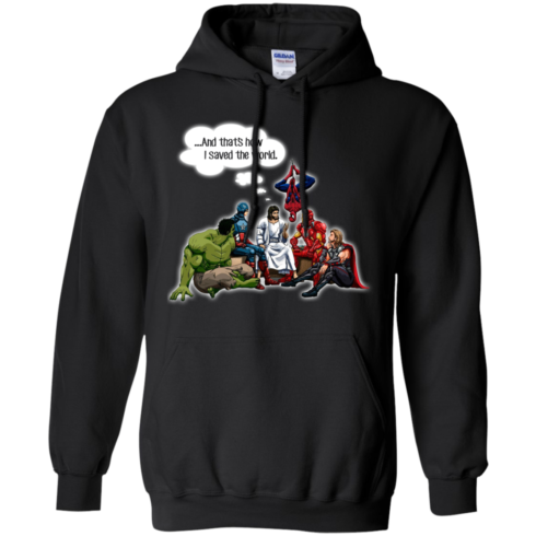 image 107 490x490px God and Super Hero: And That's How I Saved The World T Shirts, Hoodies, Sweaters