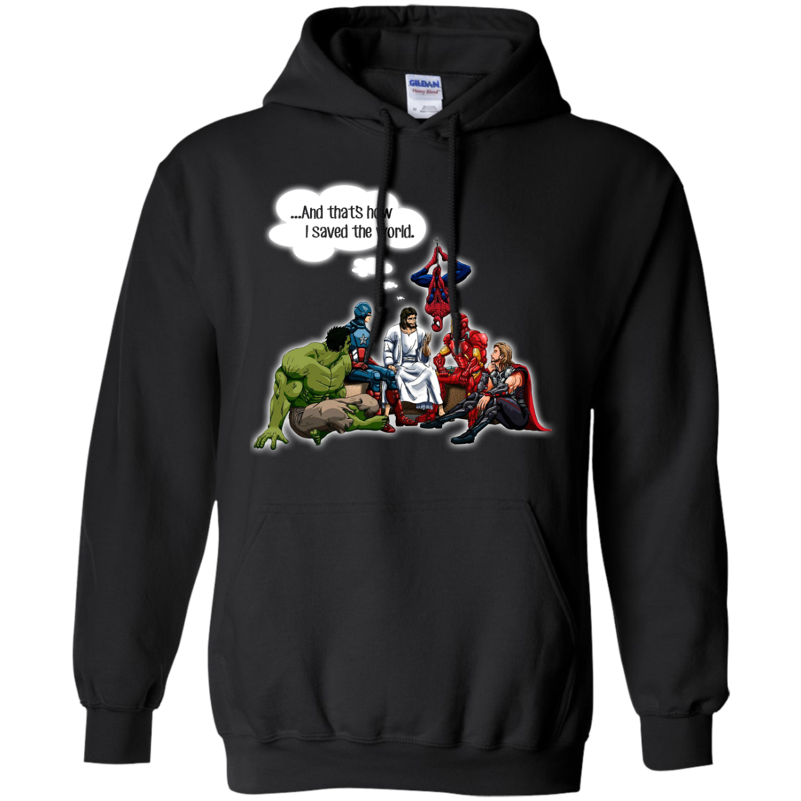 image 107px God and Super Hero: And That's How I Saved The World T Shirts, Hoodies, Sweaters