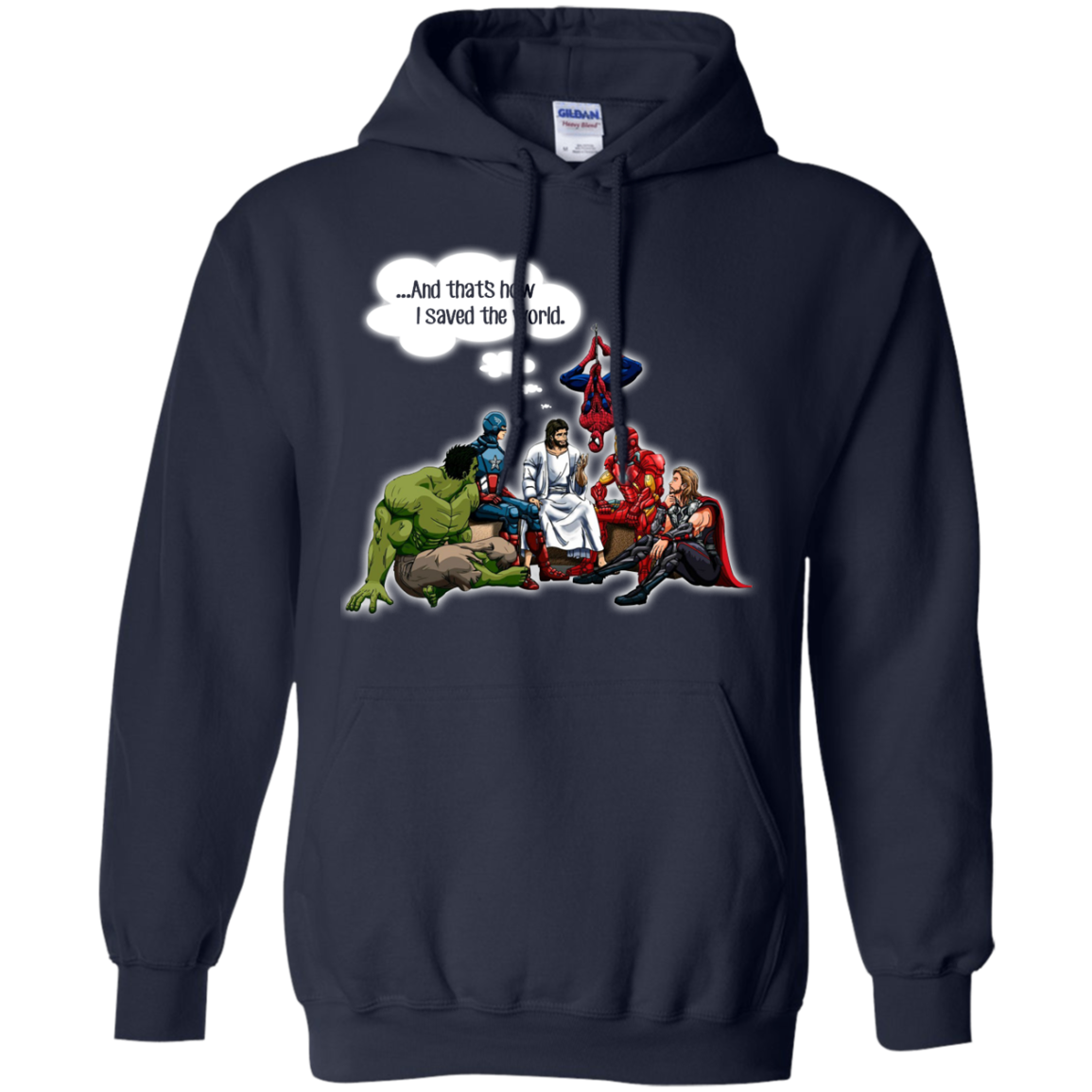 image 108px God and Super Hero: And That's How I Saved The World T Shirts, Hoodies, Sweaters
