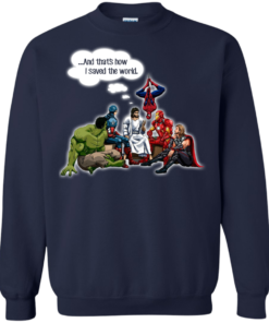 image 110 247x296px God and Super Hero: And That's How I Saved The World T Shirts, Hoodies, Sweaters