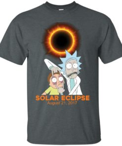 image 139 247x296px Rick and Morty Total Solar Eclipse August 21 2017 T Shirts, Hoodies, Tank
