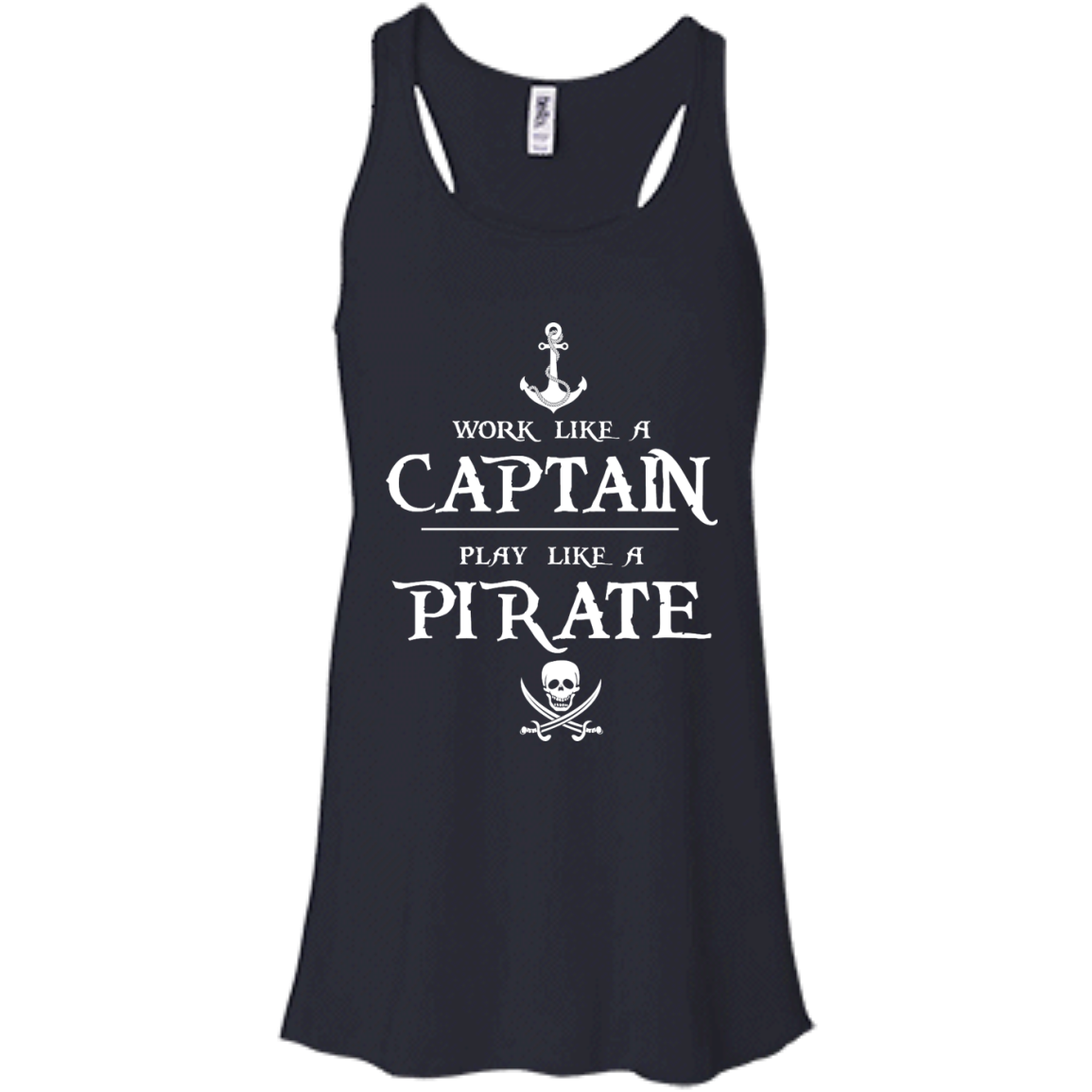 image 139px Work Like A Captain Play Like A Pirate T Shirts, Hoodies, Sweater