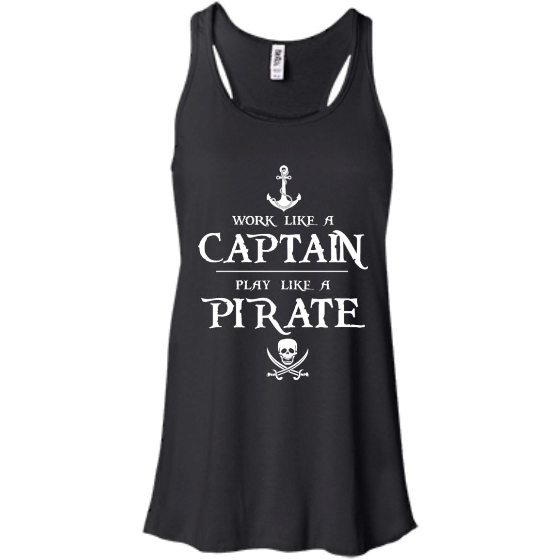 image 140px Work Like A Captain Play Like A Pirate T Shirts, Hoodies, Sweater