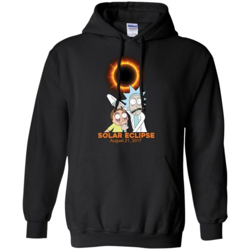 image 143 490x490px Rick and Morty Total Solar Eclipse August 21 2017 T Shirts, Hoodies, Tank