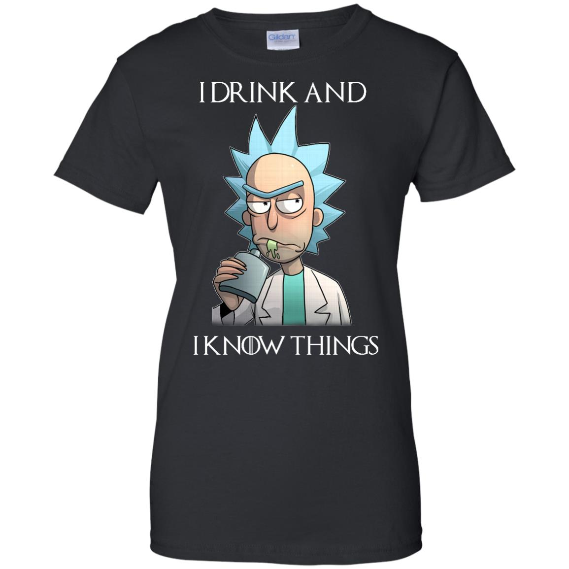 image 157px Rick and Morty I Drink and I Know Things T Shirts, Hoodies, Tank Top