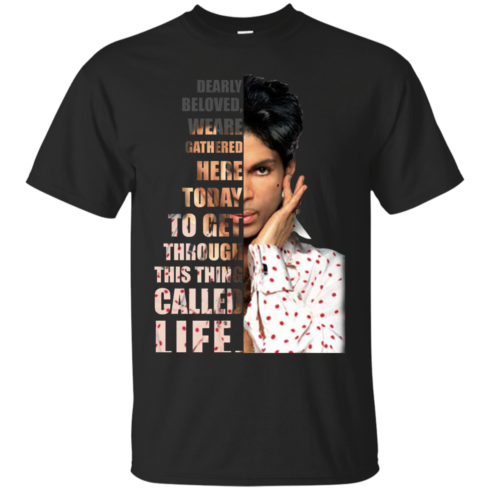 image 168 490x490px Prince: Dearly Beloved Weare Gathered Here Today T Shirts, Hoodies, Sweater