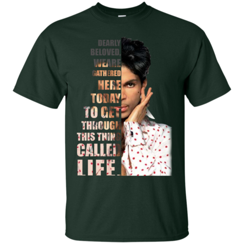 image 169 490x490px Prince: Dearly Beloved Weare Gathered Here Today T Shirts, Hoodies, Sweater