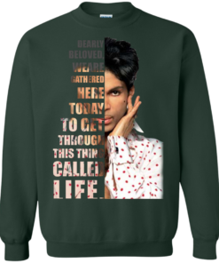 image 176 247x296px Prince: Dearly Beloved Weare Gathered Here Today T Shirts, Hoodies, Sweater