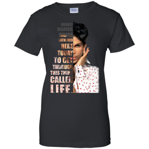 image 177 490x490px Prince: Dearly Beloved Weare Gathered Here Today T Shirts, Hoodies, Sweater
