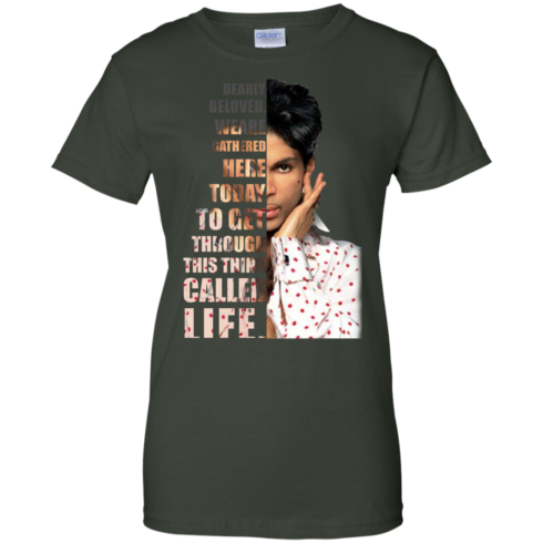 image 178 490x490px Prince: Dearly Beloved Weare Gathered Here Today T Shirts, Hoodies, Sweater