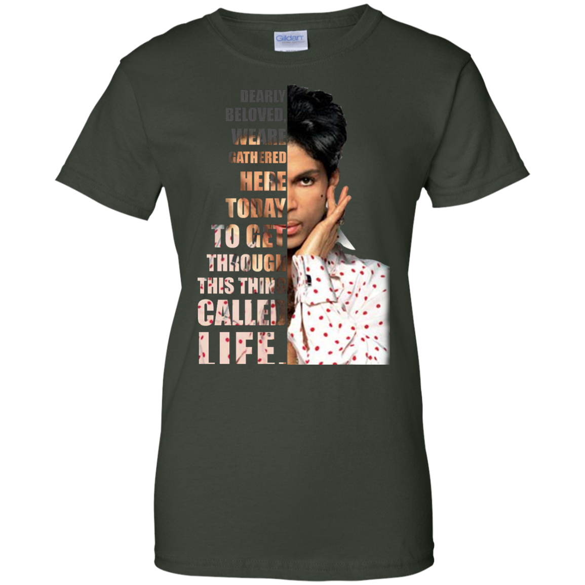 image 178px Prince: Dearly Beloved Weare Gathered Here Today T Shirts, Hoodies, Sweater