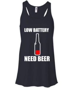 image 186 247x296px Low Battery Need Beer T Shirts, Hoodies, Tank Top